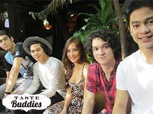 'Taste Buddies' date with 'StarStruck' boys