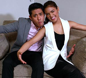 At Lovelia's office: Behind the scenes of 'Akin Pa Rin Ang Bukas'