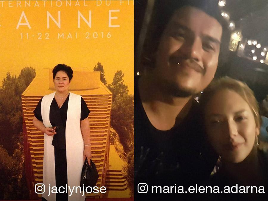 Baste Duterte & Ellen Adarna out on a date?, Jaclyn Jose's big win in Cannes and