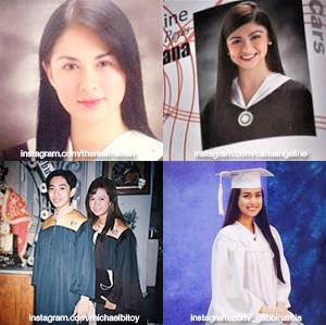 Celebrities and their graduation photos