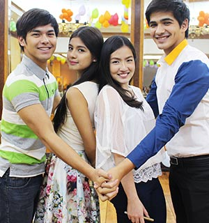 Feeling the bliss with the stars of 'Paraiso Ko'y Ikaw'