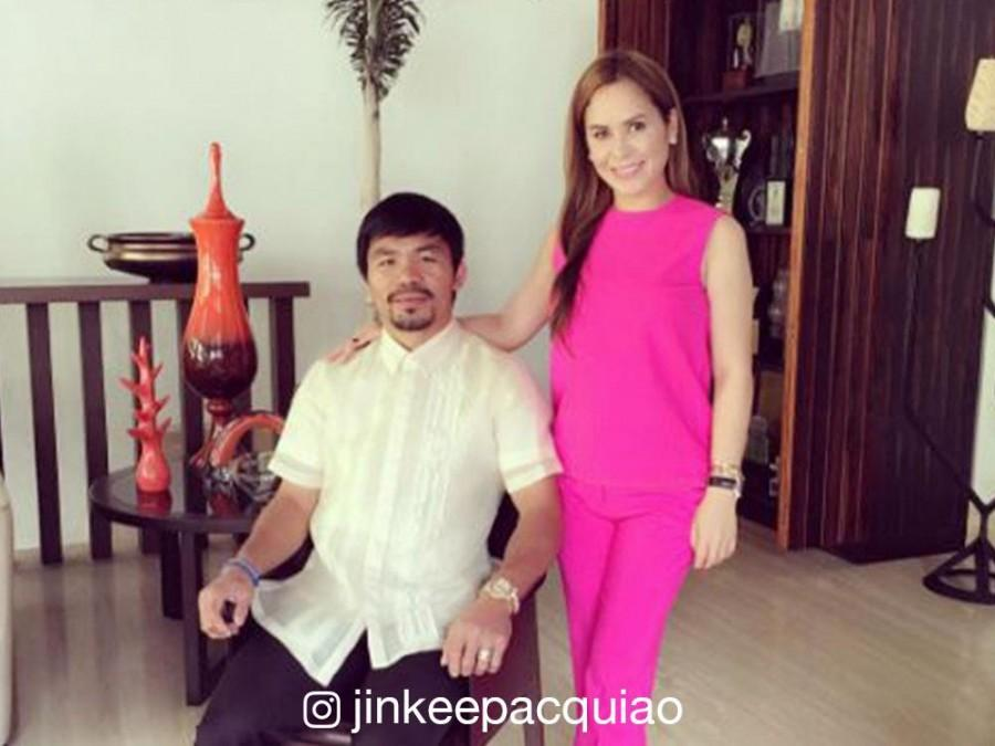 IN PHOTOS: Senator Manny Pacquiao's Forbes Park mansion