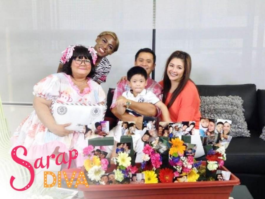 IN PHOTOS: Saturday family day featuring Ogie Alcasid and Nate Alcasid in 'Sarap Diva'