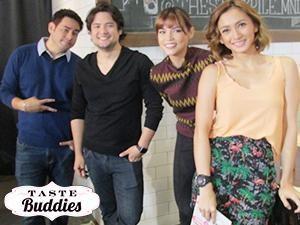 Indulge the bulge in 'Taste Buddies' with Rhian Ramos, Geoff and Gabby Eigenmann