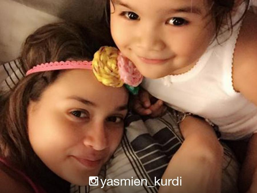 Like mother, like daughter: Yasmien Kurdi and Ayesha