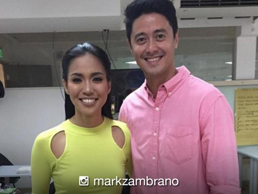 LOOK: Meet Mark Zambrano, the good-looking bae of Traffic Diva Aicelle Santos