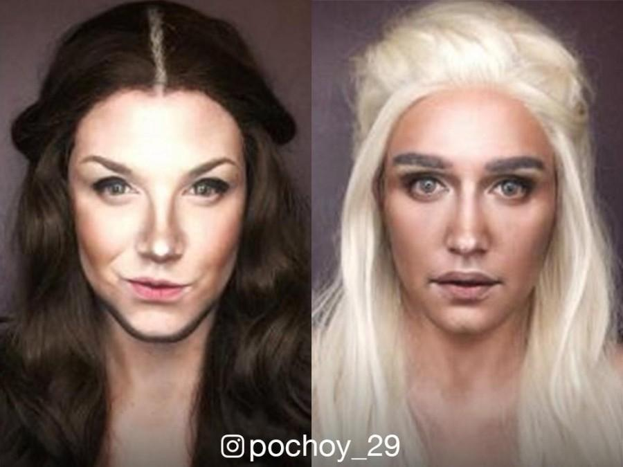 LOOK: Paolo Ballesteros morphs into six amazing 'Game of Thrones' female characters