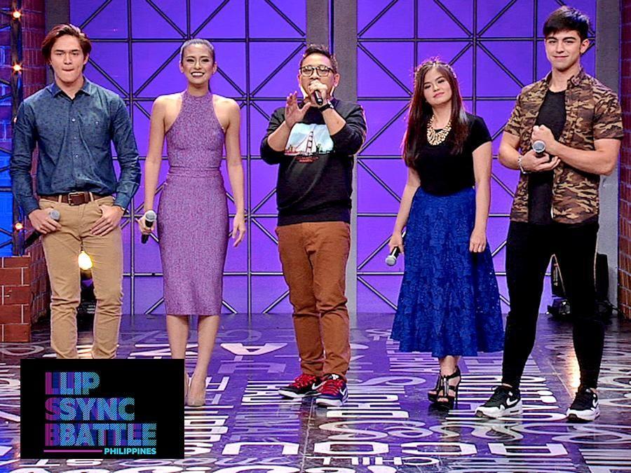 LOOK: Team DerBea versus Team GabRu's 'Lip Sync Battle Philippines' match