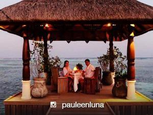 Mr. and Mrs. Sotto's honeymoon in Maldives