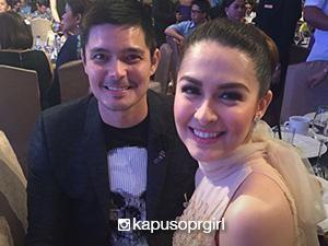 Reel and real couples at the GMA Thanksgiving Party 2016