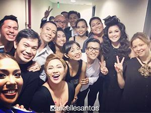 Regine at the Theater: The opening night
