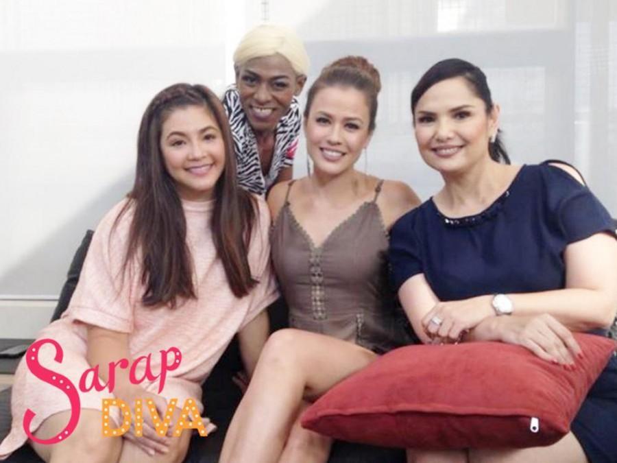 Regine Velasquez-Alcasid meets Rita Villion in 'Sarap Diva'