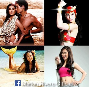 The many TV roles of Marian Rivera