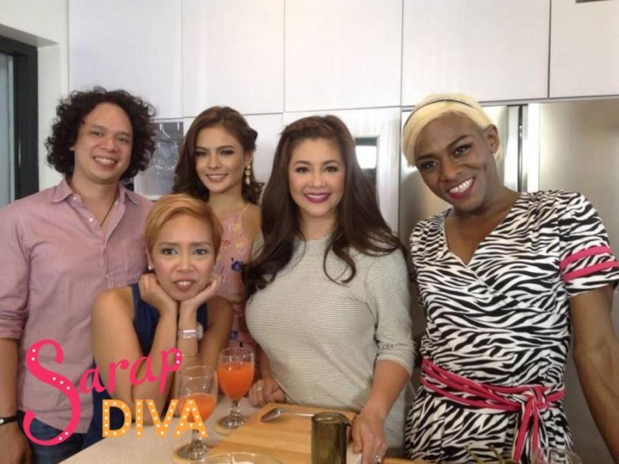 Usapang love at ideal man kasama sina Lovi Poe at Kakai Bautista sa 'Sarap Diva'