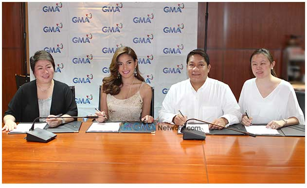 Andrea Torres Kapuso pa rin, renew her contract with Kapuso Network