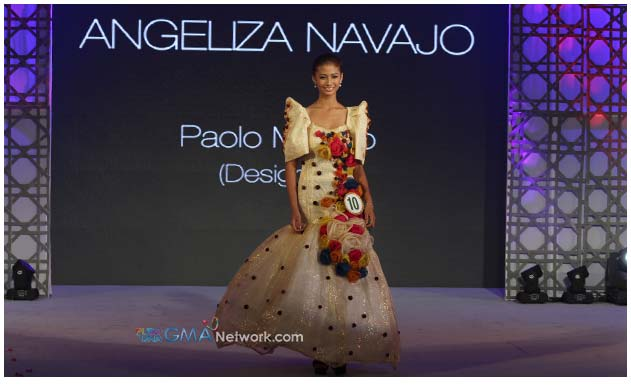 Recycled is beautiful at the Miss Teen Earth and Little ... Dried Guyabano Leaves