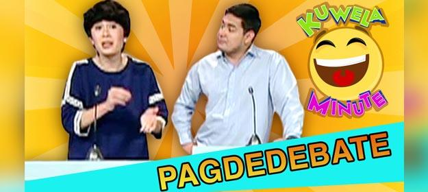 Kuwela Minute: Sign language sa debate