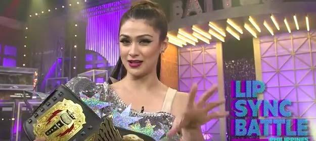 Carla Abellana's Winner Moment | Lip Sync Battle Philippines