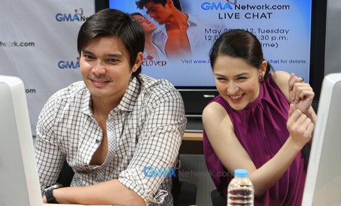Live Chat: Dingdong Dantes and Marian Rivera of My Beloved ...