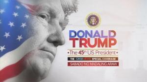 Donald Trump, the 45th US President: GMA News Special Coverage