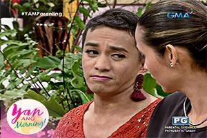 Yan Ang Morning!: Eksenang mag-ina with Boobay