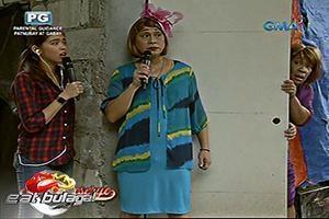 Eat Bulaga: Ang pag-rescue nina Maine Mendoza at Lola Tinidora kay Lola Nidora