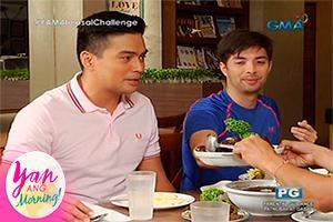 Yan ang Morning: Bonding buffet with the celebrity daddies