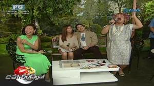 Eat Bulaga: Liz Uy, tawang tawa kay Lola Nidora
