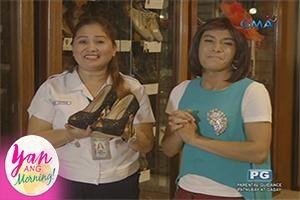 Yan Ang Morning!: Welcome to Shoe Museum!