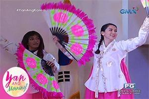 Yan ang Morning!: Discovering and exploring Korean culture