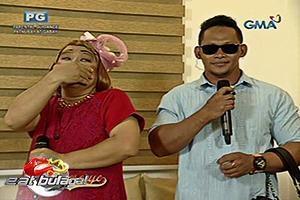 Eat Bulaga: Lola Nidora, akala props ang salamin ni Rogelio