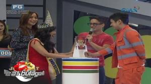 Eat Bulaga: Cacai Bautista, nagpa-kiss kay Bae Kenneth Earl Medrano