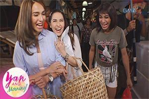 Yan Ang Morning!: Marian Rivera and Jennylyn Mercado together for the first time