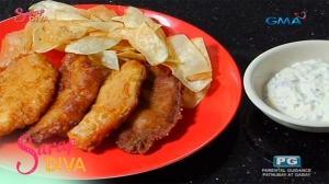 Sarap Diva: Tilapia with gabi chips by Jon Santos