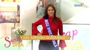 Sarap Diva Teaser: Miss Universe-style morning with Miriam Quiambao