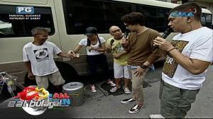 Eat Bulaga: JoWaPao at Maine Mendoza, tumigil sa kalsada para sa taho