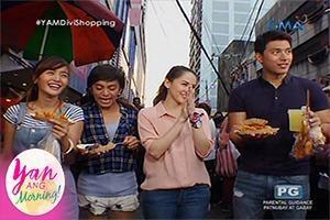 Yan ang Morning!: Street food challenge with Kris Bernal and Mike Tan sa Divi!