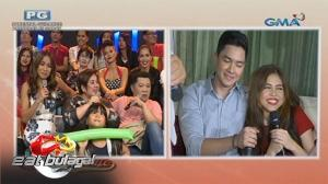 Eat Bulaga: Alden Richards at Maine Mendoza, muntik nang maghalikan