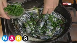 Mars: Fresh Mussels with Cream and Parsley