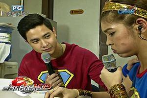 Eat Bulaga: Maine Mendoza at Alden Richards, nagkita na
