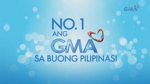 No. 1 ang GMA sa buong bansa