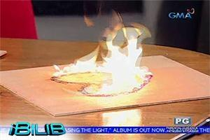 iBilib: Fire art