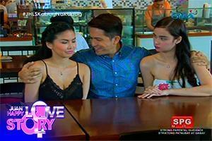 Juan Happy Love Story: Threesome baby!