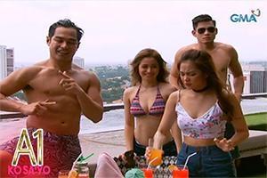 A1 Ko Sa'yo ep. 14: Stag and bachelorette parties