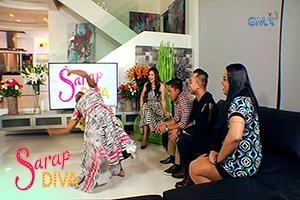 Sarap Diva: Tawanan with the comedians