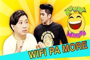 Kuwela Minute: Wifi pa more!