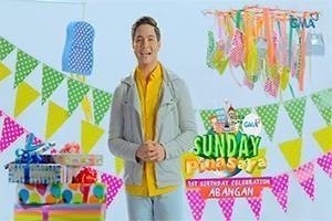 Sunday PinaSaya: Alden Richards invites you to a 1st birthday celebration