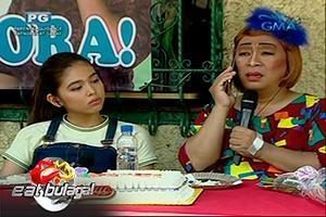 Eat Bulaga: Lola Nidora, nakumbinse nang pumunta ng Amerika?