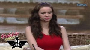 'Bubble Gang' Bloopers: Hinihika si Kim?