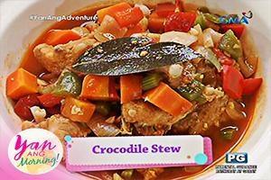 Yan Ang Morning!: Crocodile stew by Marian Rivera